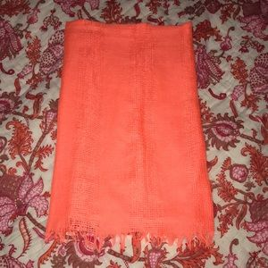 Accessories - Orange scarf