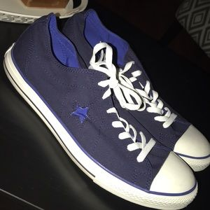 Converse One Star Shoes Worn Once