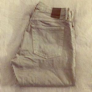 Men's Gray Jeans Gap Standard Fit 29X30