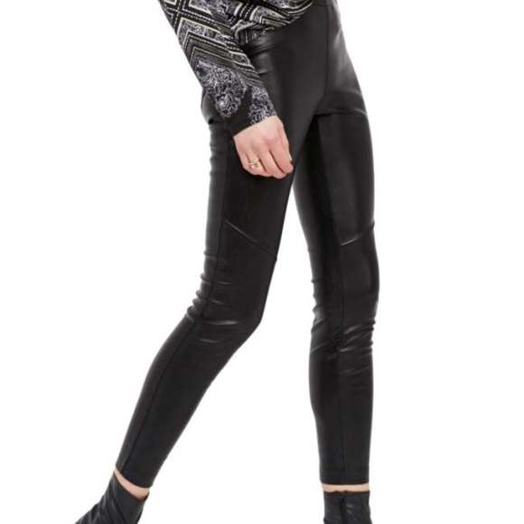 bc303d31433 Free People Pants - 🎄1 DAY SALE PRICE 🎄Faux leather Free People pant