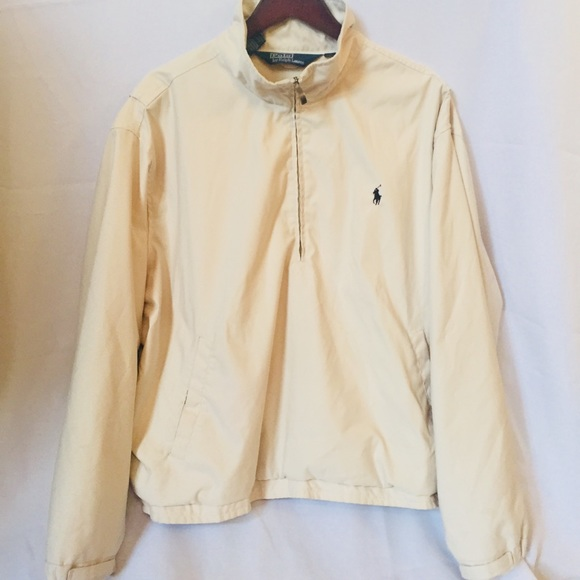 Polo Windbreaker Beige Lauren Polo Ralph kiuOZTPX