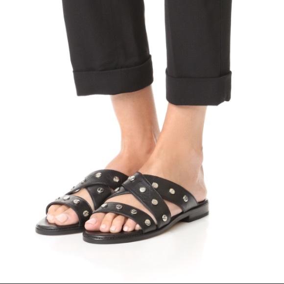 Rebecca Minkoff Susie Slide Sandals cheap find great 8Hzo6WYL