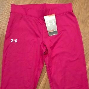 6861306c0a6c5 Under Armour Bottoms - Girls Under Armour UA Yoga Pants Size L Large