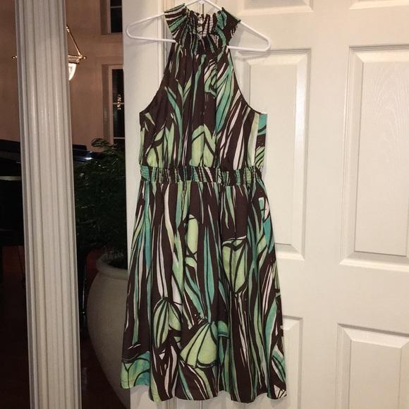 Lane Bryant Dresses & Skirts - Tropical print dress