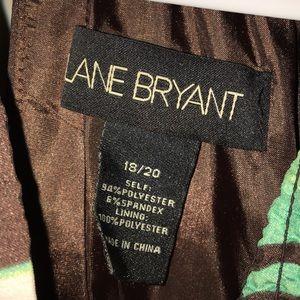 Lane Bryant Dresses - Tropical print dress