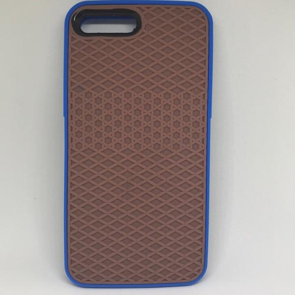 best website cf2a9 91c7a Vans IPhone 7 Plus Rubber Waffle Case Blue/Gum