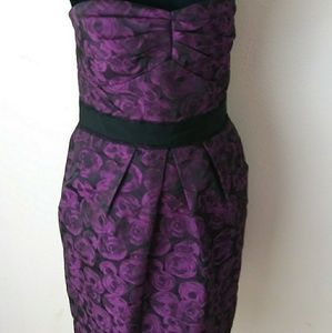 Max & Cleo Strapless Dress with Pockets Size 10