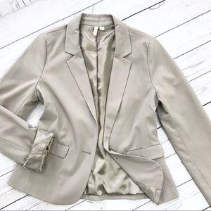 Nordstrom Frenchi Light Grey Blazer