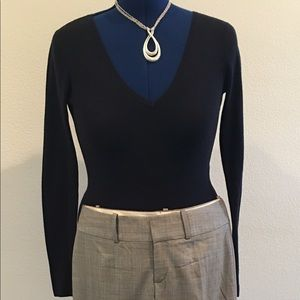 INC Navy Lightweight Fitted Sweater Sz S REDUCED!!