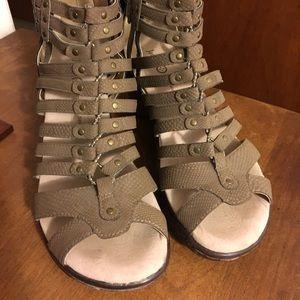Jambu Sport Wedge Design sandals/shoes -size 7.5