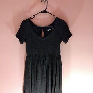 Kimchi Blue Dark Gray Fit and Flare Dress