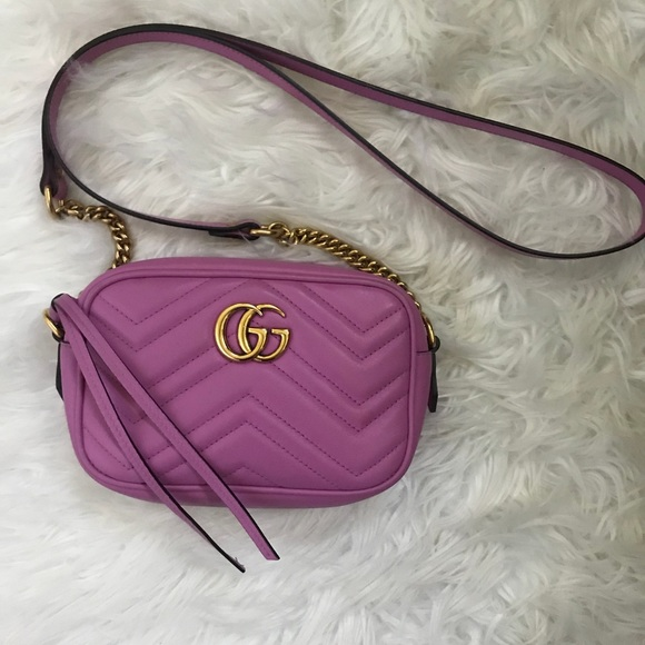 343984d6bdead Gucci Handbags - Authentic Gucci GG Marmont matelassé mini bag