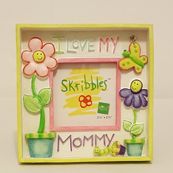 I Love My Mommy 25 X 25 Picture Frame Poshmark