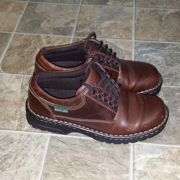 73221dc2507 Eastland Shoes - Eastland Plainview Leather Oxford Shoes Womens 7.5