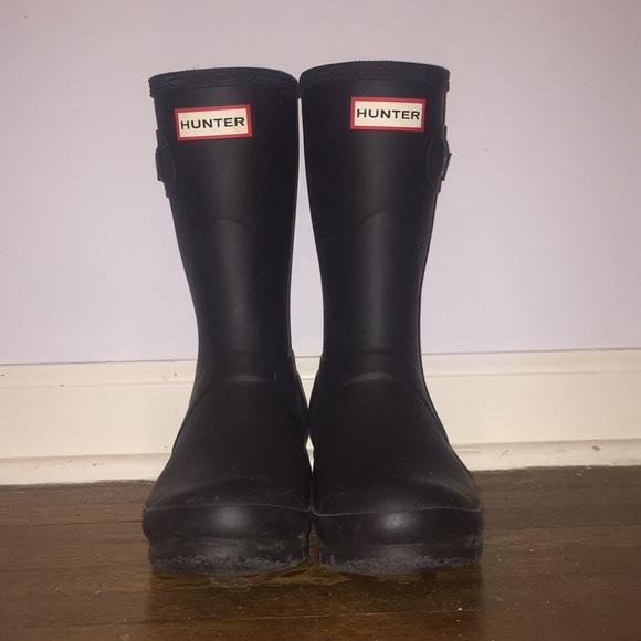 cd8611f4e9b Women's Original Tour Short Rain Boots BLACK