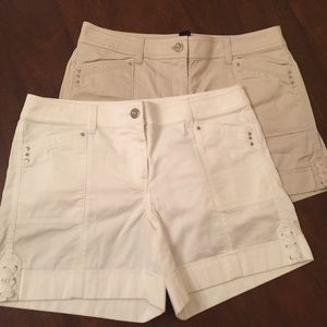 White House Black Market shorts bundle