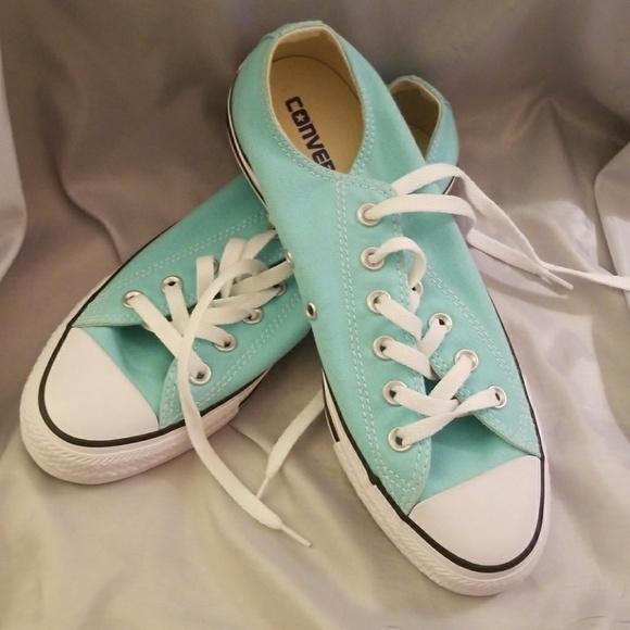 d5b783c9366a Converse Shoes - Aqua blue green women s converse sizes ...