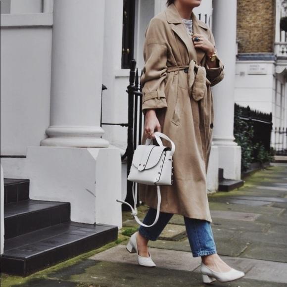 f76a1b3b Zara Jackets & Coats | Bell Sleeve Trench Coat | Poshmark