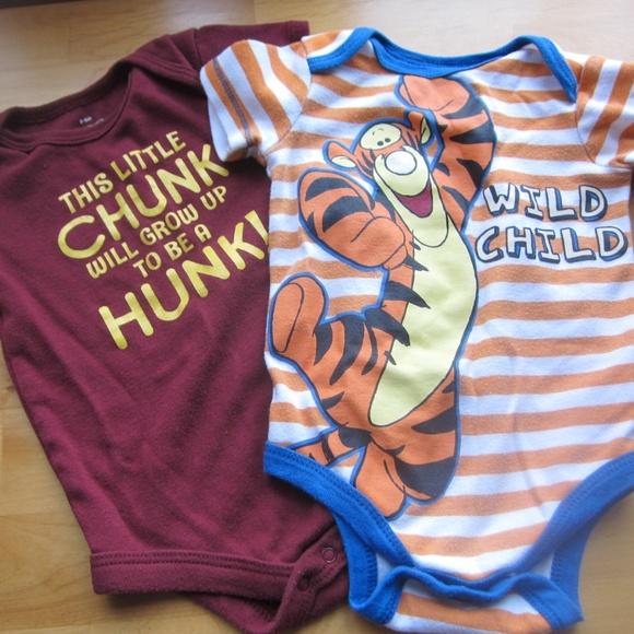 c3c560d13 Disney One Pieces | 69 Mo Set Of Boy Bodysuits Tigger Future Hunk ...