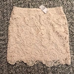 NEW WITH TAGS Gorgeous lace skirt