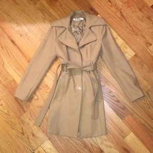 Kenneth Cole Wool Trench