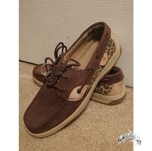 Sperry Cheetah Print Top-Sider Shoes
