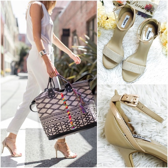 8b5f5acc97 ASOS Shoes | Dune London Madeira Nude Heels 37 | Poshmark