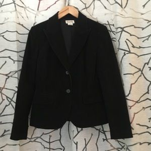 Black Michael Kors Corduroy blazer