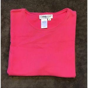 Pink top 💐