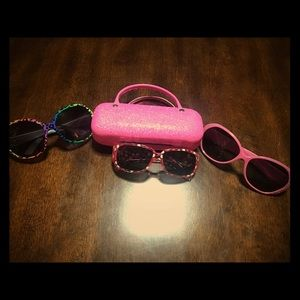 Other - Girls sunglasses & purse case