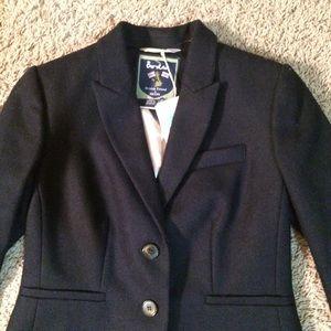 Boden British Tweed by Moon navy jacket blazer
