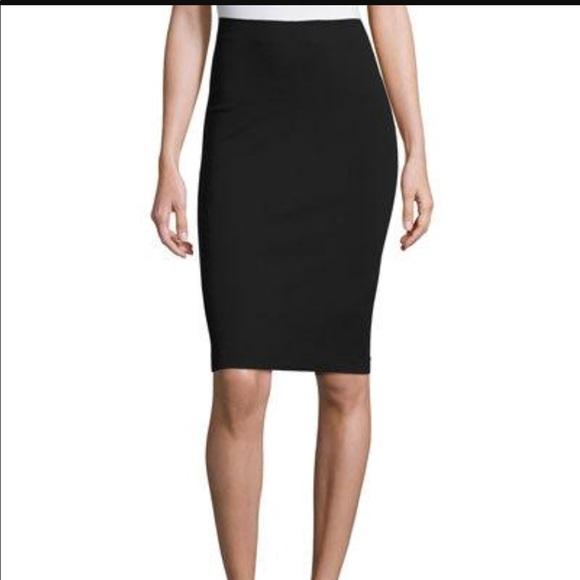 3e743728d Diane Von Furstenberg Skirts | Dvf Black Cotton Pencil Skirt | Poshmark