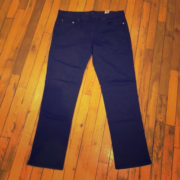 Banana Republic Slim Japanese Traveler Jean Men/'s    36x30  NWOT Blue