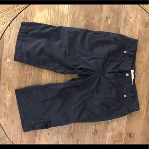 J. Crew women's navy Bermuda shorts - size 10