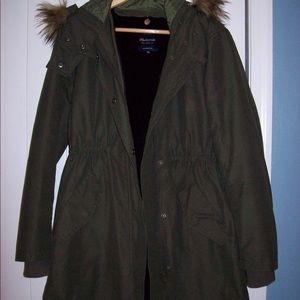 $328 MADEWELL Field Parka Removable Lining Coat