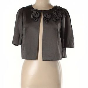 Rebecca Taylor Cropped Jacket with Detail
