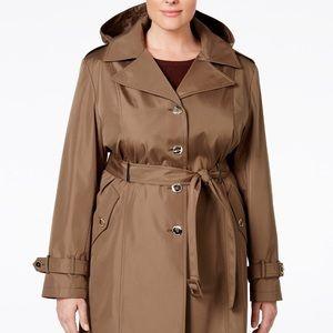 Calvin Klein Plus Size Trench Coat