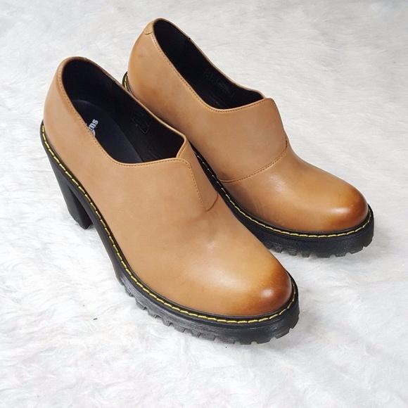 01772383709 Dr. Martens Shoes - Dr. Martens Women s Cordelia Block Heel Loafer
