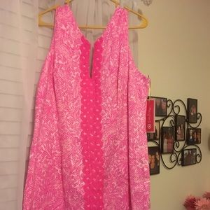 Pink Lilly Pulitzer for Target shift dress