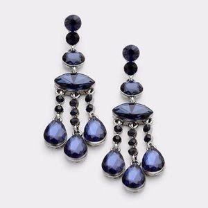 Jewelry - Glass Earring Montana Blue Earrings