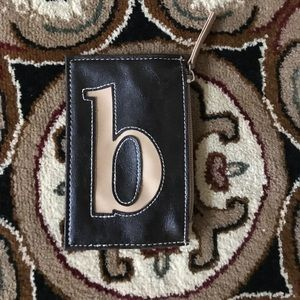 Accessories - Cute Monogramed Coin /Credit Card Purse