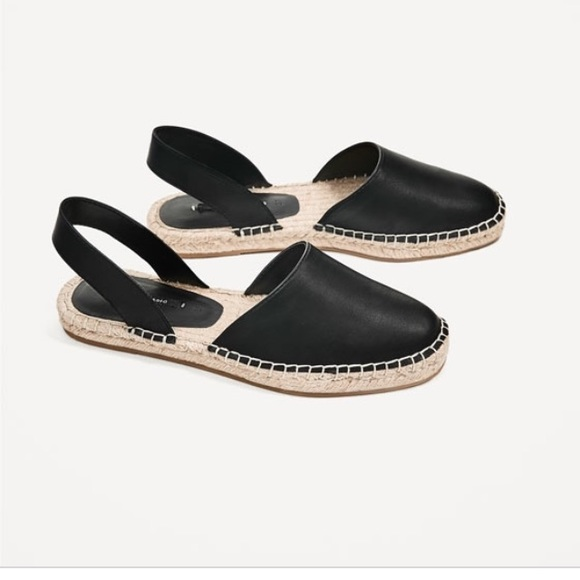 Zara Shoes | Zara Black Slingback