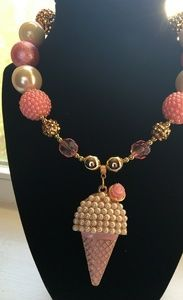 Other - Kids necklace - Ice Cream pearl