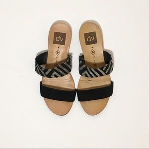 Dolce Vita / Slip-On Strappy Herringbone Sandal