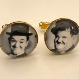 Other - Laurel and Hardy Cuff Links