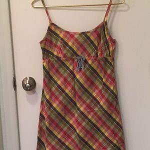 Tommy Hilfiger Madras Slip Dress