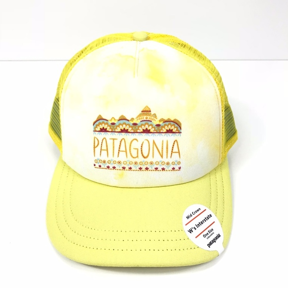 59d8d4b0a4f Patagonia W s Femme Fitz Roy Interstate Hat Yellow