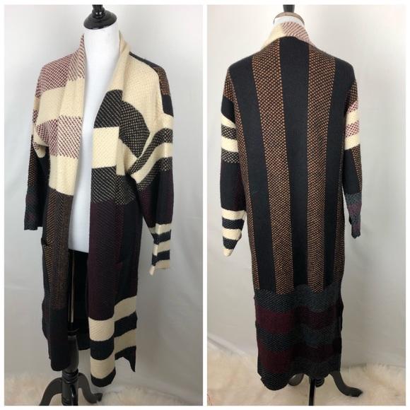 522cc785ad986 BCBGMaxAzria Sweaters - Max sport plaid long cardigan