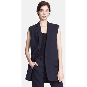 Rag & Bone Oversized Wool Blend Vest