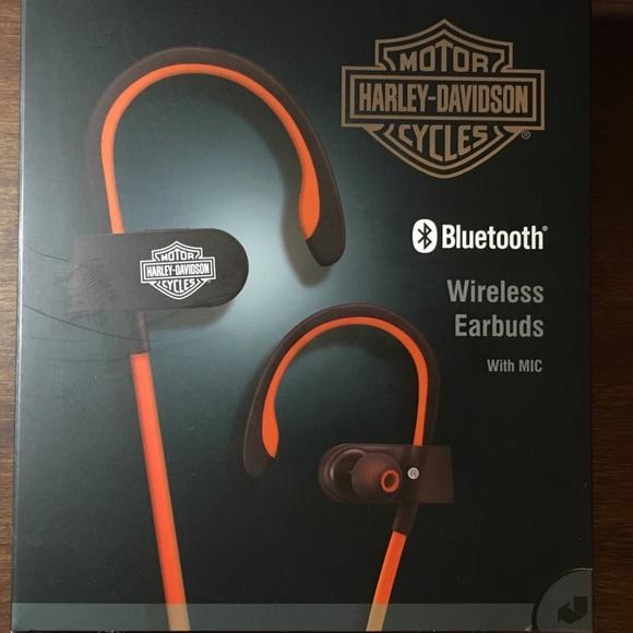 502126f84fc Harley-Davidson Other | Nwt Wireless Earbuds | Poshmark